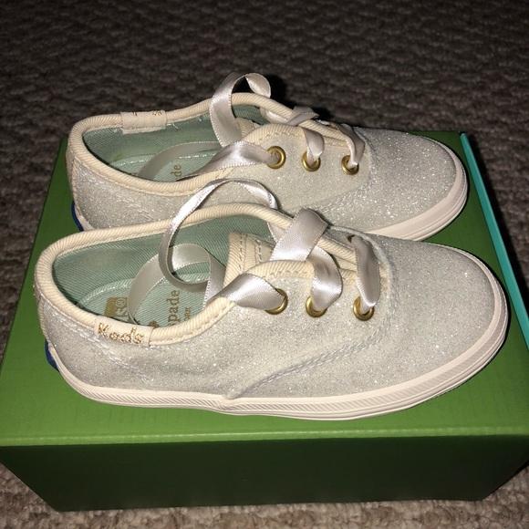 b1f1681a1eda Keds x Kate spade toddler glitter sneakers